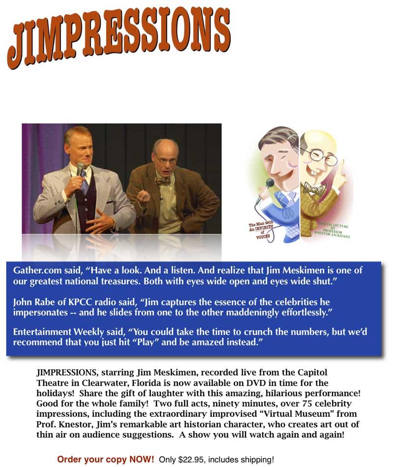 Jimpresseions DVD